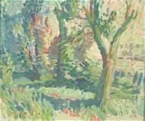 76: MURCH, Arthur (1902-1989) 'Morning' Oil on Board