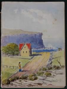 144: c.1908 Sydney Harbour Artists Sketchbook. Cont. 43