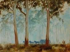 1189: BEST, Kevin (b.1932) Hay Wagon Through the Bush O