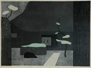 SAITO, Kiyoshi (1907-1997) 'Jiko-in Nara 1970' (Wi