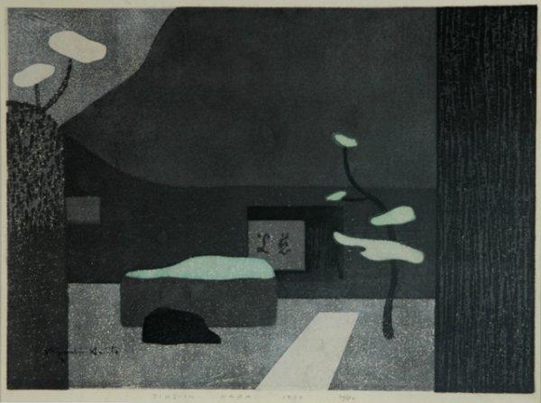 10: SAITO, Kiyoshi (1907-1997) 'Jiko-in Nara 1970'  (Wi