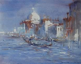 MCDONALD, Dawson (b.1920) 'The Grand Canal Venice