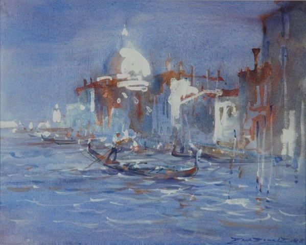 1017: MCDONALD, Dawson (b.1920) 'The Grand Canal Venice