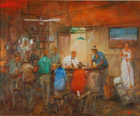 SAWREY, Hugh (1923-1999) ''Big John The Wheat Lumper