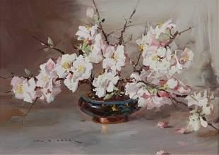 7: BAKER, Alan Douglas (1914-1987) Japanese Prunis Blos