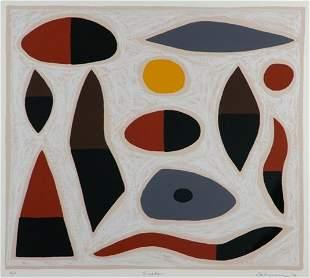 10: COBURN, John (1925-2006) 'Snake,' 1999. S/Print A/P