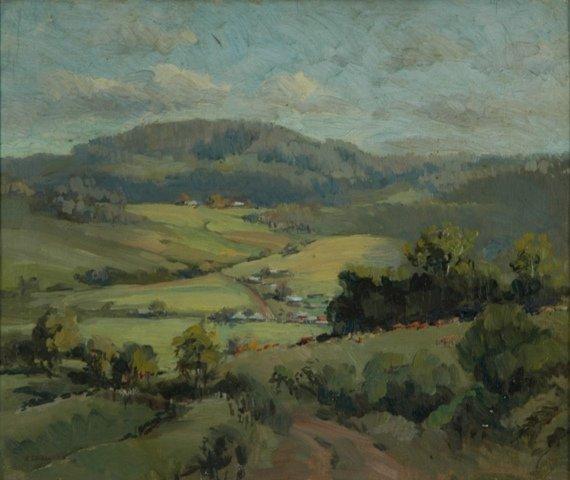 14: EDGECOMBE, Henry (1881-?) 'Away to Saddleback, Jamb