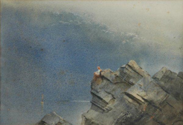 GARRETT, Tom (1879-1952) Lorelei on the Rocks Monot