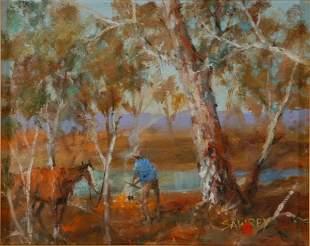 25: SAWREY, Hugh (1923-1999) 'Boiling up Along the Culg