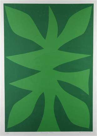 COBURN, John (1925-2006) 'Emerald Tree,' 1975. S/Pr