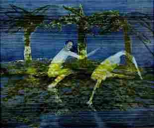 NOLAN, Sid (1917-1992) Man & Bird Ripolin on Board