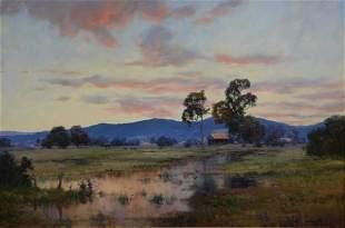 DOWNTON, John (b.1939) 'In the Quiet of Evening, Sh