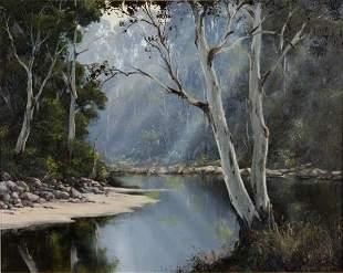 BEST, Kevin (b.1932) 'Quiet Corner (Upper Manning R