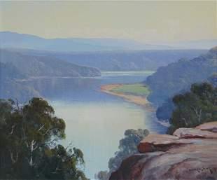 LONG, Leonard (b.1911) 'The Morning Light, Shoalhav