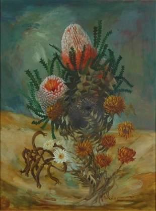 FLETCHER, William (1924-1983) 'Western Arrangement,