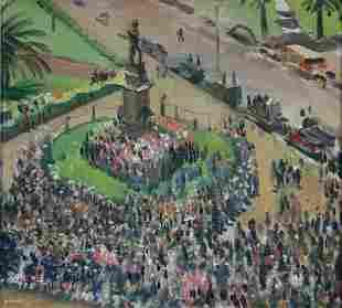 DUNDAS, Douglas Robert (1900-1981) 'War Drive Rally