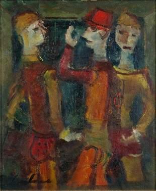 LYMBURNER, Francis (1916-1972) Three Figures - Circ