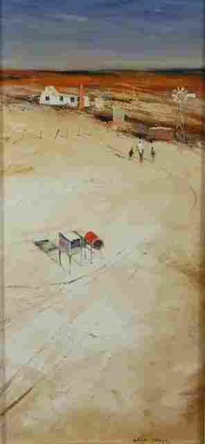 PARKER, Colin (b.1941) 'Clay Country near Birdsvill