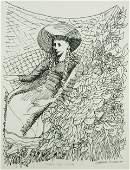 167: BLACKMAN, Charles (b.1928) 'Summer Days - Colette.