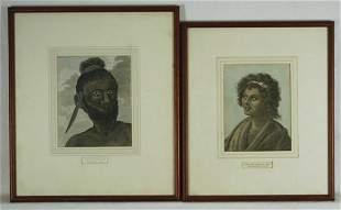 2 Various Engravings WEBBER, John (1750-1793) & H