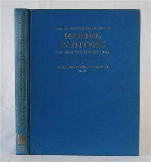 Book: 'The Seventeenth Century Marine Painters of