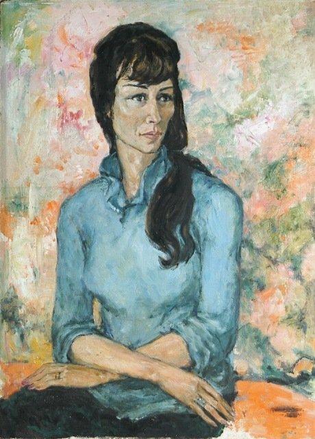 6: PENGLASE, Marjory (b.1922) Portrait of a Woman in a
