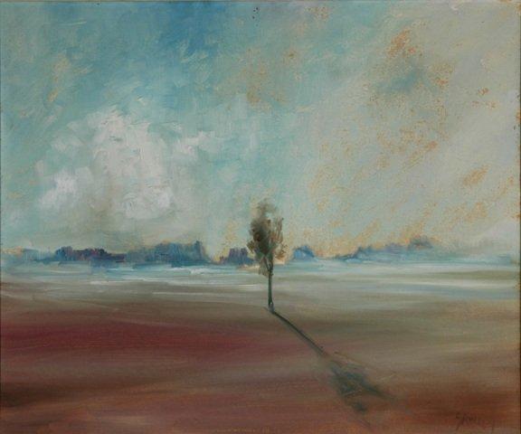 9: SAWREY, Hugh (1923-1999) 'Land of the Mirage,' S.W.