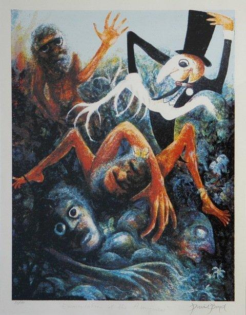 25: BOYD, David (b.1924) 'Emasculation of the Aborigine