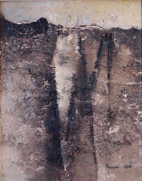 104: PEASCOD, William (1920-1985) Untitled, 6/62. Mixed