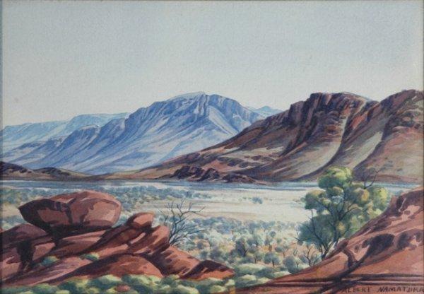 1002: NAMATJIRA, Albert (1902-1959). Central Australian