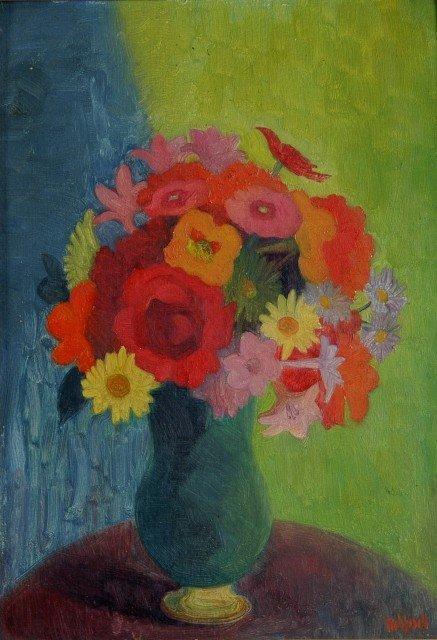 1006: REHFISCH, Alison (1900-1975). 'November Painting.