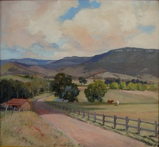 1012: HANKE, Henry (1901-1989). 'Road to the Mountains,