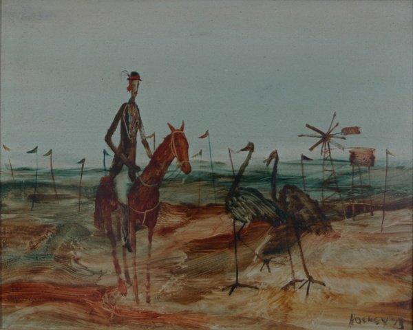 1013: HOCKEY, Patrick (1948 - 1992). Female Equestrian