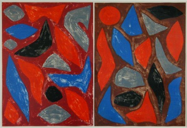 1014: COBURN, John (1925-2006). 'Nourlangie,' 1988.  Mo