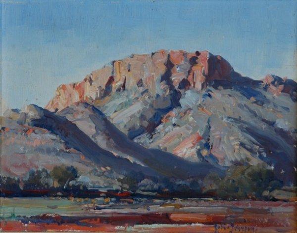 1022: JOHNSON, Robert (1890-1964). 'Mt Gillen, Alice Sp