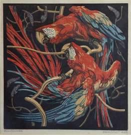 1212: VON BRESSLERN-ROTH, Norbertine (1891-1978). Red P