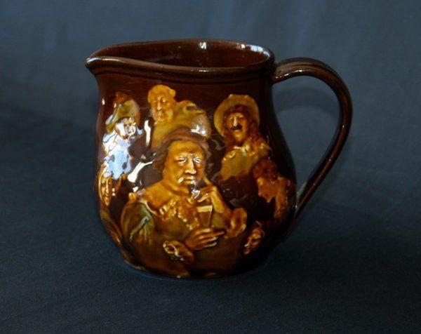 Royal Doulton Kingsware Whisky Jug 'Memories.' H