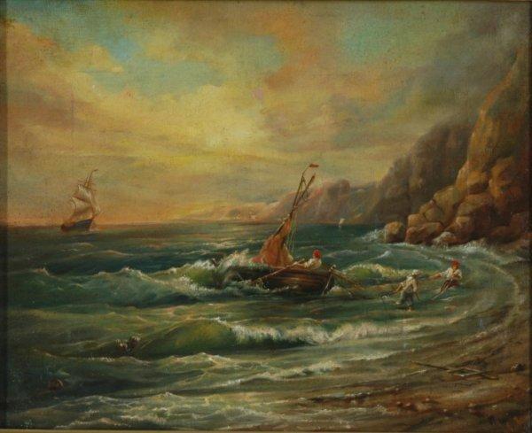 1002: Signature LAGORIO (Lev Felixovich 1827-1905)  Bri