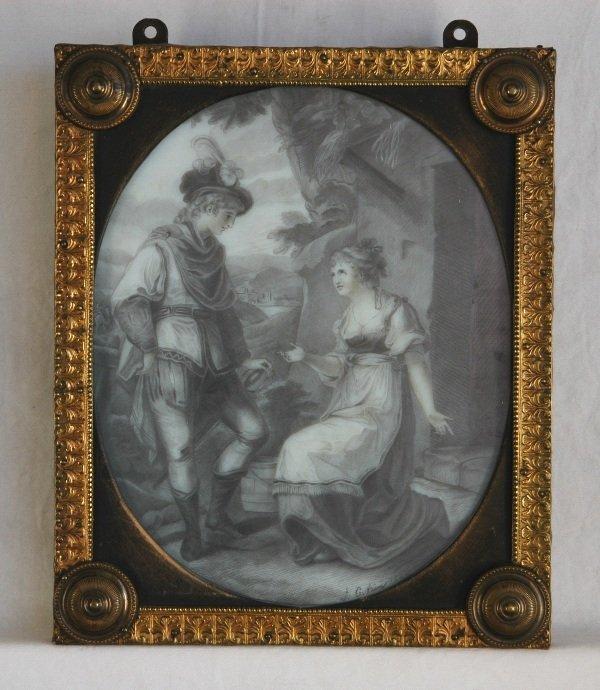 1003: Signature GUERIN, J (?Jean Urbain 1761-1836)  Cou