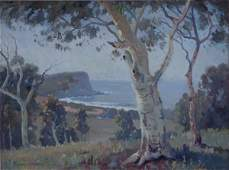 1057: LANGKER, Erik (1898-1982) Australian Coastal Sce