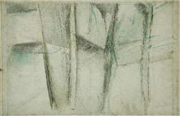 1071: MILLER, Godfrey (1893-1964) 'Study: Trees and Mo