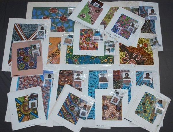 14: Aboriginal School (34) Various Works by Various Art