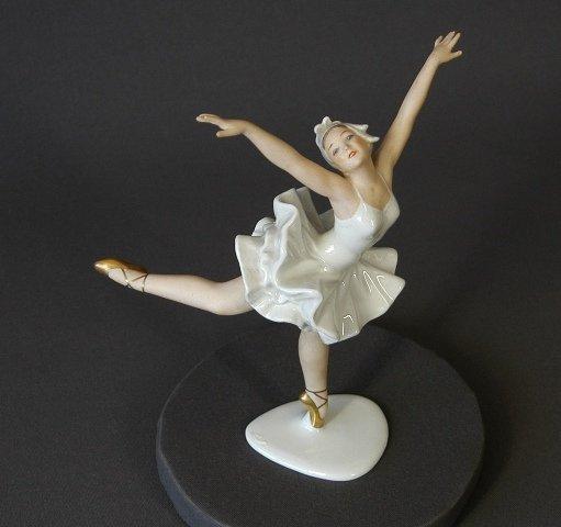 461: Wallenberg Porcelain Ballerina Figure. - 2