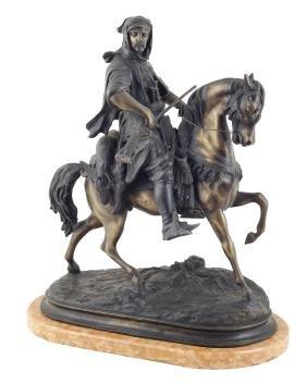 Emile Guillemin France, 1841 - 1907 62x53x29 cm.