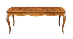 A rosewood and bois de rose table Italy, antique