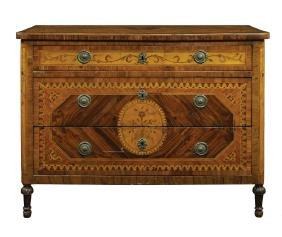 A Louis XVI drawer Lombardia, late 18th century