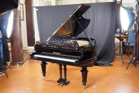 A C. Bechstein piano Berlin, 1899, series n. 49266