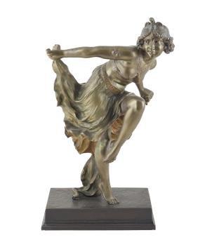 A bronze sculpture France, 20th century 58x31,5x17,5