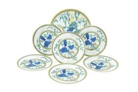 An Hermes Limoges porcelain set France, 20th century d.