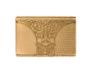 A pink gold snuffbox Austro-Hungarian Empire, 1806